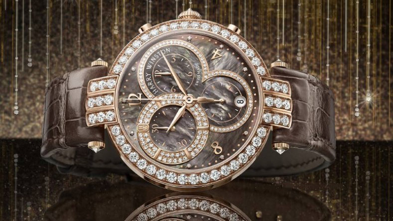 Harry Winston Premier Chronograph 40mm Watch