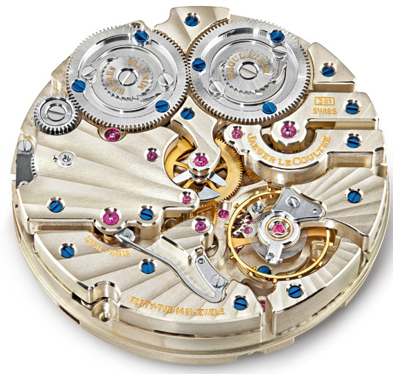 Jaeger LeCoultre Calibre 381 Mechanism