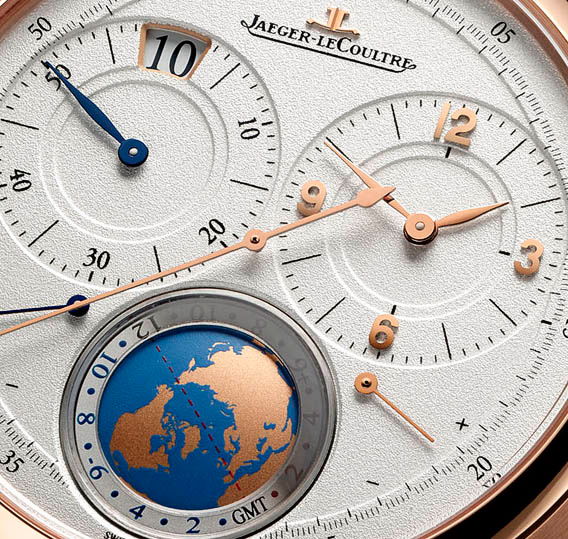 Jaeger-LeCoultre Duomètre Travel Time Watch Dial