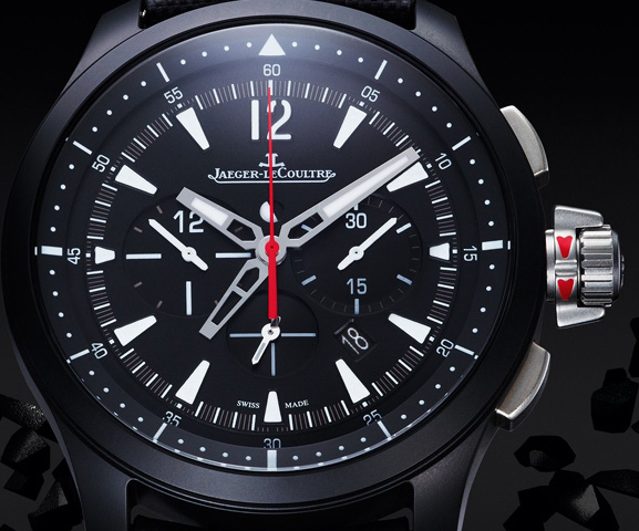 Jaeger-LeCoultre Master Compressor Chronograph Ceramic Watch Dial