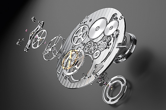 Bulgari Octo Finissimo Watch Movement