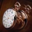 Longines Equestrian Lepine Pocket Watch in Rose Gold