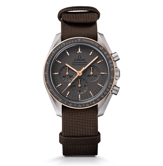 Omega Speedmaster Apollo 11 45th Anniversary Watch Front