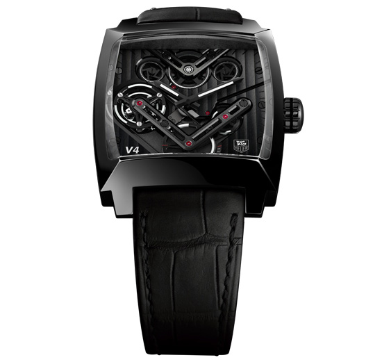 Tag Heuer Monaco V4 Tourbillon Watch