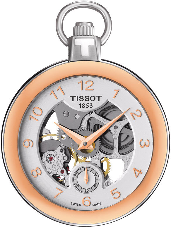 Tissot Pocket Mechanical Skeleton Watch Front