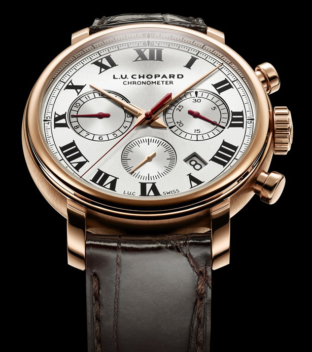 Chopard L.U.C 1963 Chronograph Watch Front