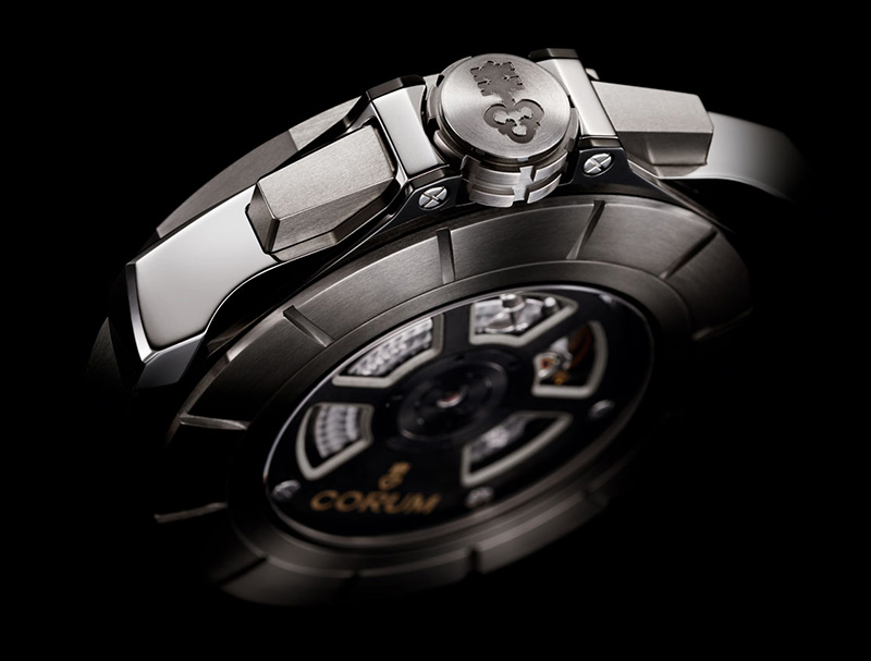 Corum Admiral's Cup AC-One 45 Squelette Watch Back