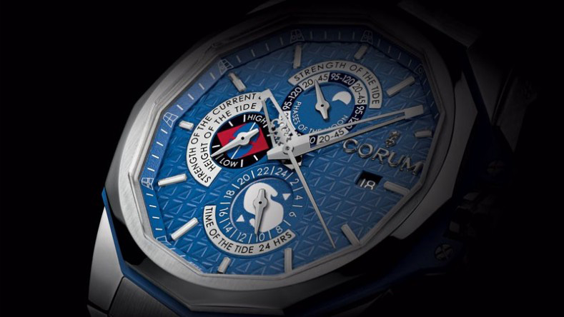 Corum Admiral's Cup AC-One 45 Tides Watch Dial