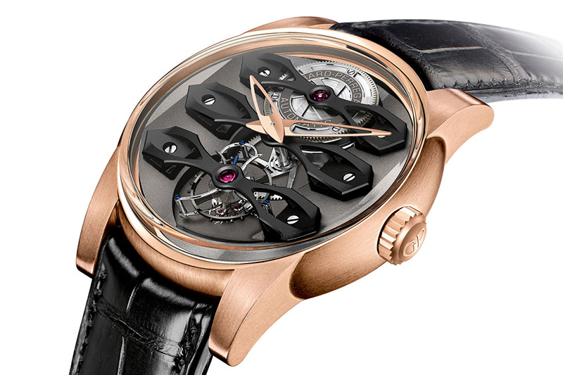 Girard-Perregaux Neo-Tourbillon with Three Bridges Watch Case