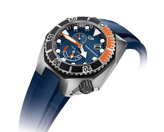 Girard-Perregaux Sea Hawk 2014 49960-19-431-FK4A Watch Side