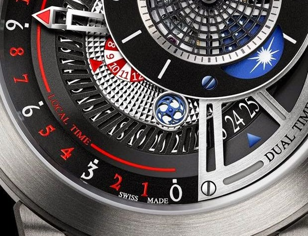 Harry Winston The Ccean Collection Project Z8 Watch Dial Detail