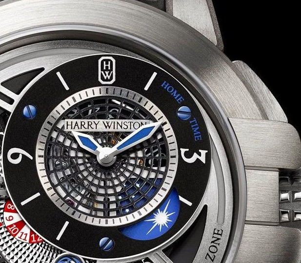 Harry Winston The Ccean Collection Project Z8 Watch Dial