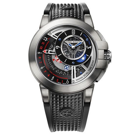 Harry Winston The Ccean Collection Project Z8 Watch Front