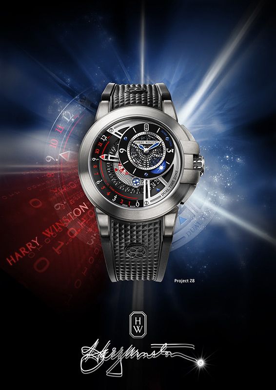 Harry Winston The Ccean Collection Project Z8 Watch