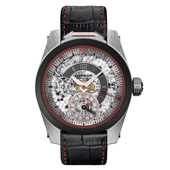 Montblanc Timewalker Chronograph 100 Watch Front