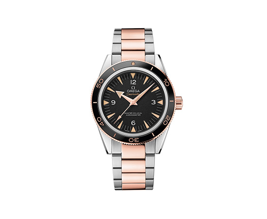 Omega Seamaster 300 Master Co-Axial Bi-metallic Watch