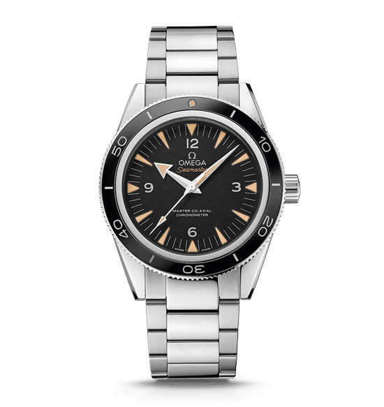 Omega Seamaster 300 Master Co-Axial Steel Watch