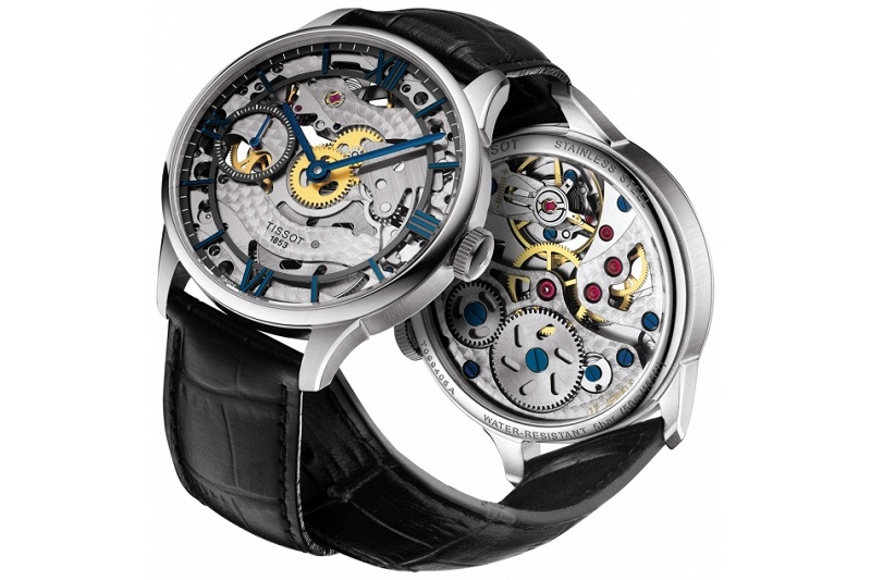 Tissot Chemin des Tourelles Skeleton Watch