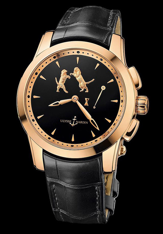 Ulysse Nardin Hourstriker Tiger Watch Front