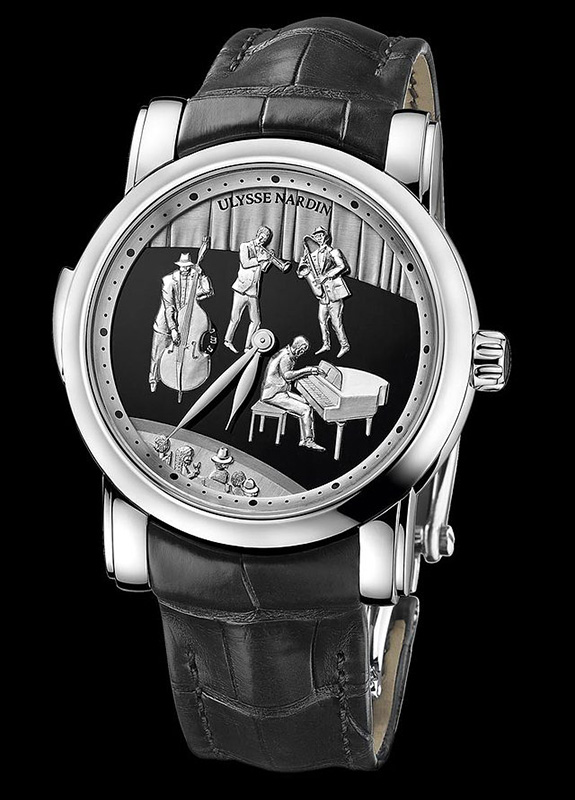 Ulysse Nardin Jazz Minute Repeater Watch Front