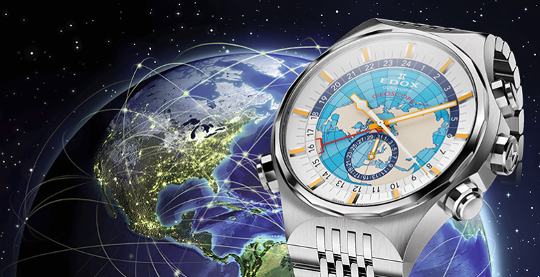 Edox Geoscope GMT Automatic Watch