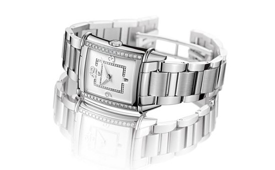 Girard-Perregaux Vintage 1945 Lady Edition 2014 Watch Front 25860D11A1A1-11A