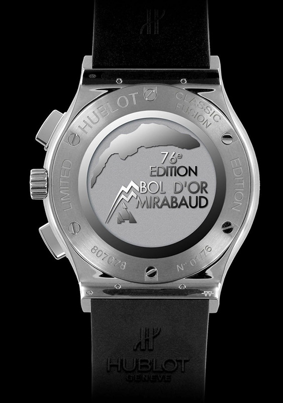 Hublot Classic Fusion Bol d'Or Miribaud 2014 Watch Back
