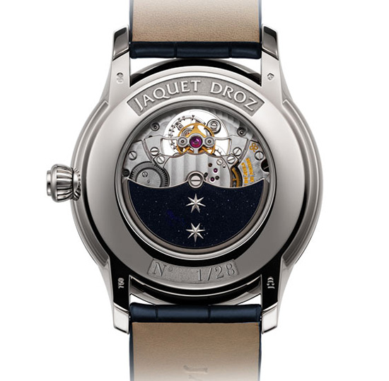 Jaquet Droz Grande Seconde Tourbillon Aventurine Watch Back