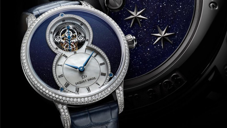 Jaquet Droz Grande Seconde Tourbillon Aventurine Watch