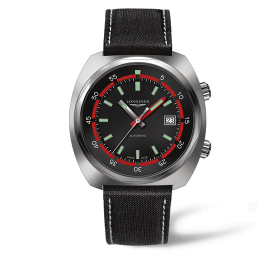 Longines Heritage Diver Watch Front