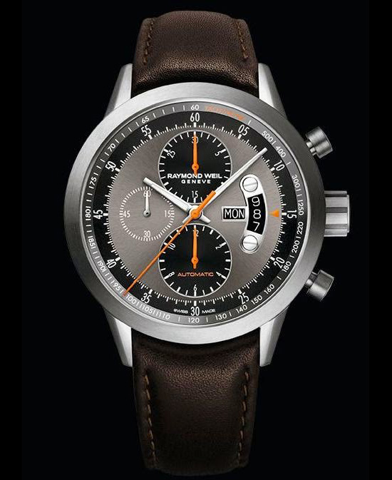 Raymond Weil Freelancer Chronograph Titanium Watch Front