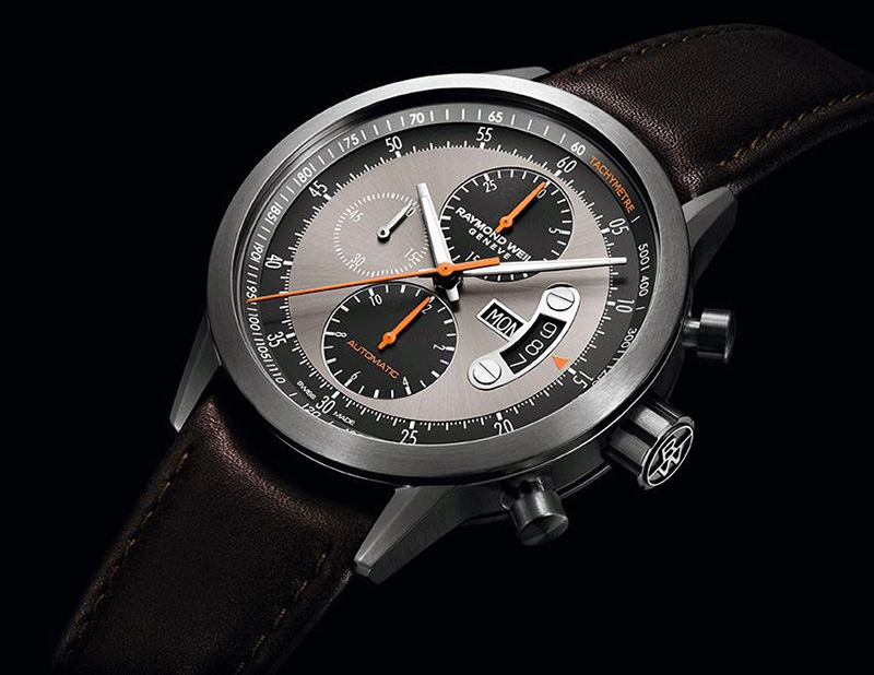 Raymond Weil Freelancer Chronograph Titanium Watch
