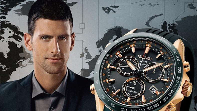 Seiko Astron GPS Solar Novak Djokovic Limited Edition Watch
