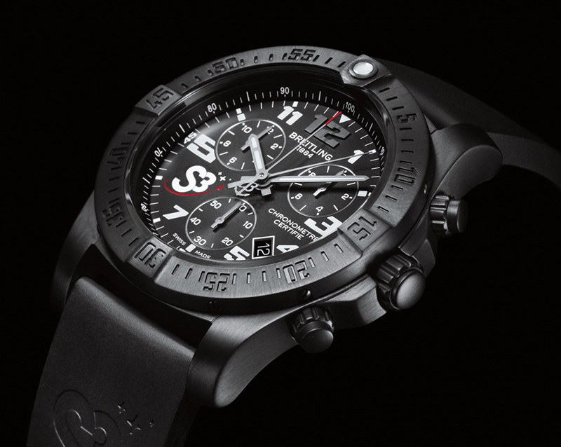 Breitling S3 ZeroG Chronograph Watch
