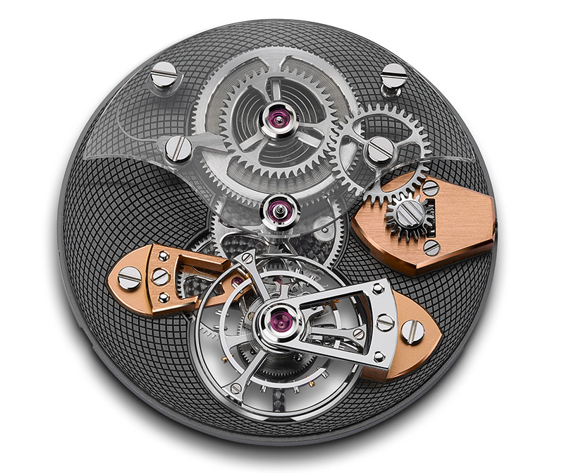 Caliber A&S810 Dial Side