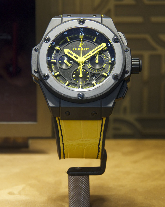 Hublot King Power 692 Bang Watch Front