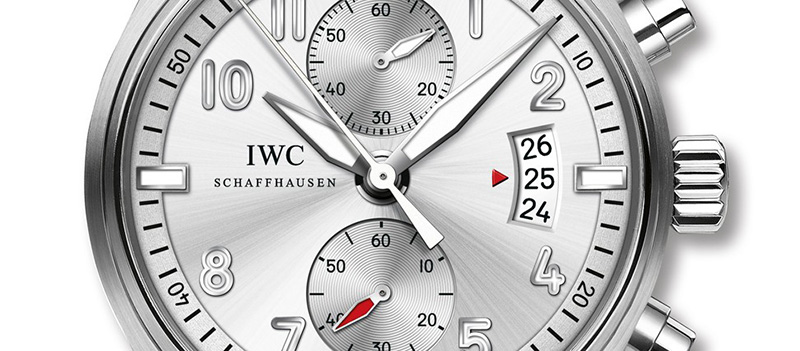 "IWC Pilot's Chronograph Edition ""JU-AIR"" Watch Dial"