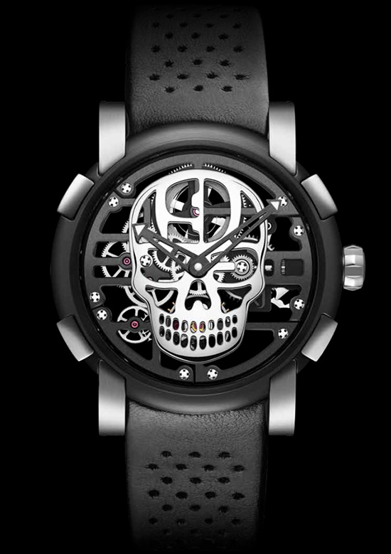 Romain Jerome X Hardnine Choppers H9C-DNA Speed Metal Watch