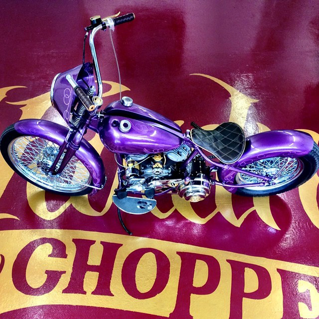 The Hardnine Choppers Motorbik