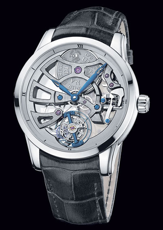 Ulysse Nardin Skeleton Tourbillon Manufacture Edition 2014 Watch 1700-129