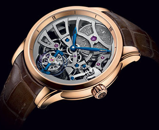 Ulysse Nardin Skeleton Tourbillon Manufacture Edition 2014 Watch 1706-129 Case