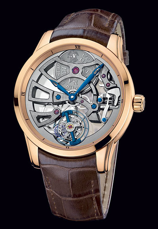 Ulysse Nardin Skeleton Tourbillon Manufacture Edition 2014 Watch 1706-129