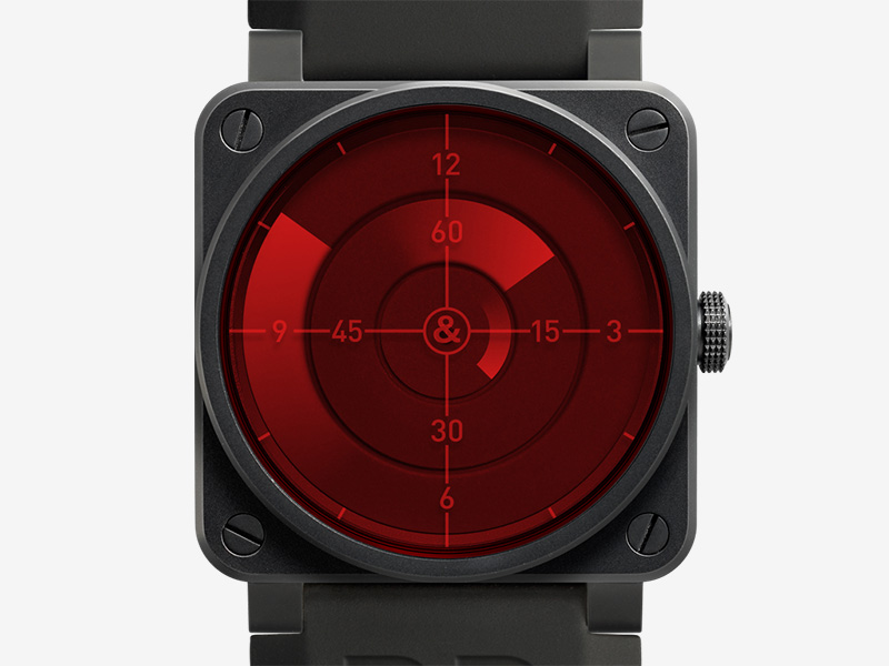 Bell & Ross BR 03-92 Red Radar Watch