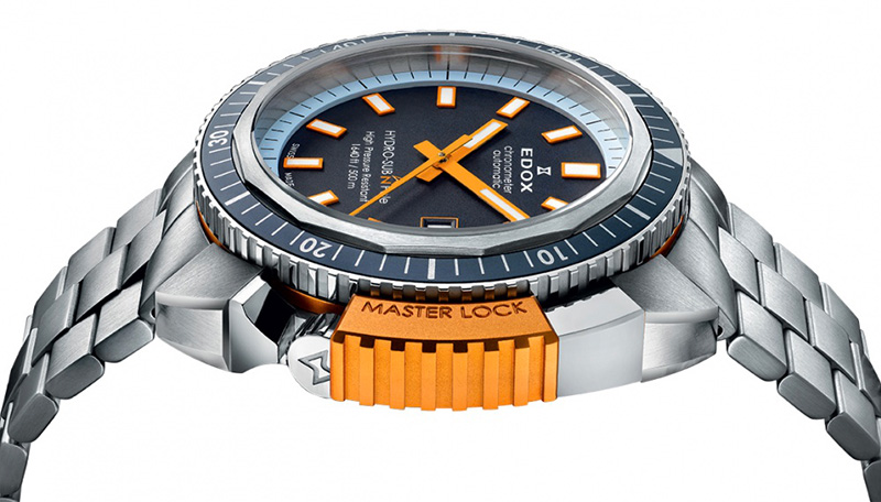 Edox Hydrosub North Pole Watch Profile