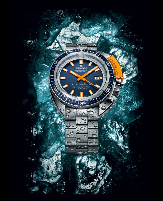 Edox Hydrosub North Pole Watch
