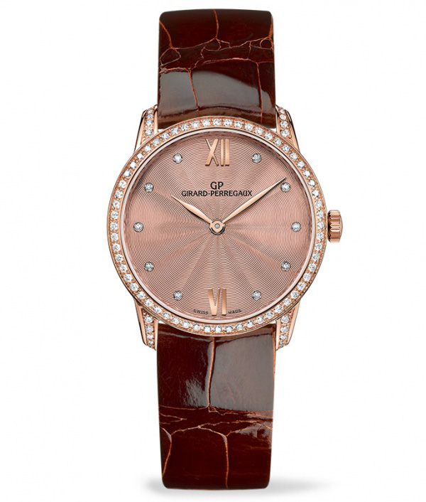 Girard-Perregaux 1966 Lady Bronze Dial Watch