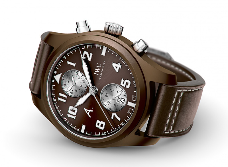 "IWC Pilot's Watch Chronograph Edition ""The Last Flight"" Watch Front"