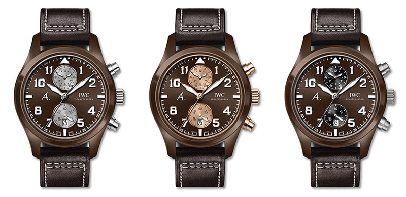 "IWC Pilot's Watch Chronograph Edition ""The Last Flight"" Watches"
