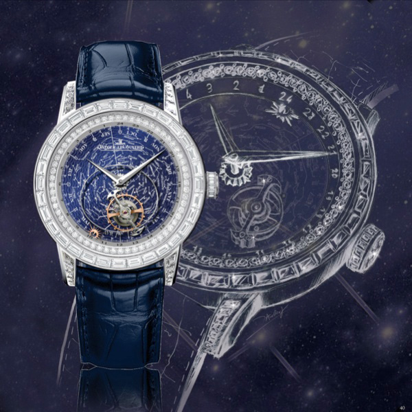 Jaeger-LeCoultre Master Grande Tradition Tourbillon Celeste Watch