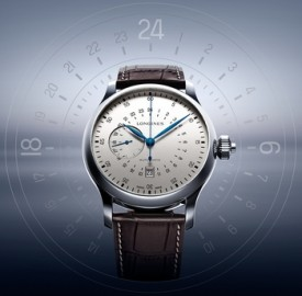Longines Twenty-Four Hours Single Push Piece Chronograph Watch